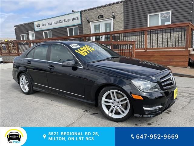 2014 Mercedes-Benz C-Class Base (Stk: 10943) in Milton - Image 1 of 23