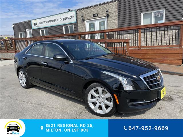 2015 Cadillac ATS 2.0L Turbo (Stk: 10962) in Milton - Image 1 of 24