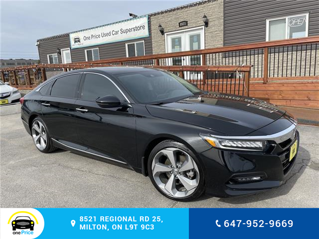 2019 Honda Accord Touring 2.0T (Stk: 10984) in Milton - Image 1 of 29