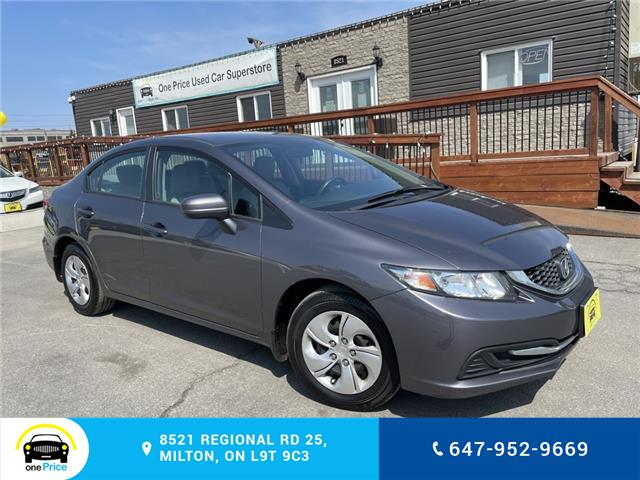 2015 Honda Civic LX (Stk: 10940A) in Milton - Image 1 of 27
