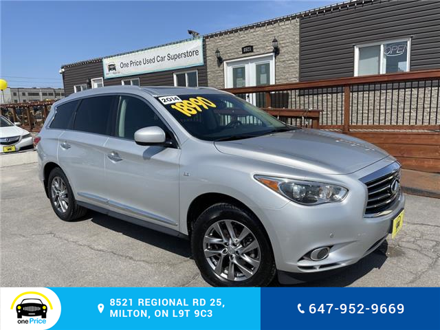 2014 Infiniti QX60 Base (Stk: 10985) in Milton - Image 1 of 30
