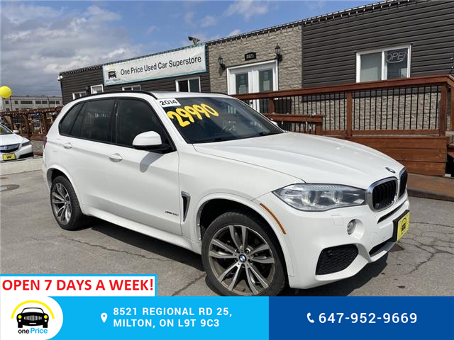2014 BMW X5 35i (Stk: 10989) in Milton - Image 1 of 31