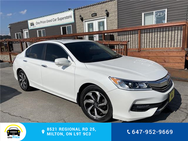2016 Honda Accord EX-L (Stk: 10981) in Milton - Image 1 of 28