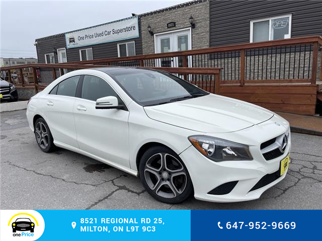 2015 Mercedes-Benz CLA-Class Base (Stk: 11008) in Milton - Image 1 of 22