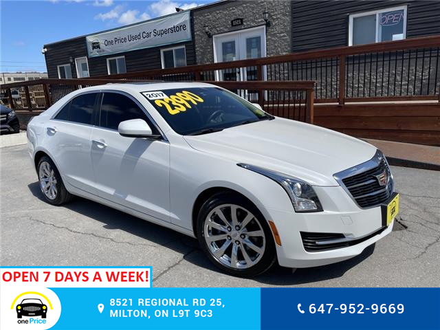 2017 Cadillac ATS 2.0L Turbo (Stk: 11010) in Milton - Image 1 of 28