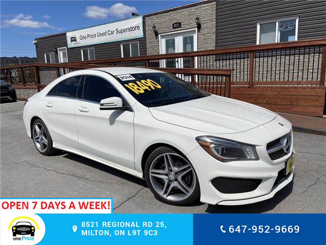 2014 Mercedes-Benz CLA-Class Base (Stk: 10993) in Milton - Image 1 of 25