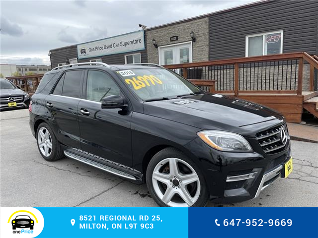 2015 Mercedes-Benz M-Class Base (Stk: 10865) in Milton - Image 1 of 29