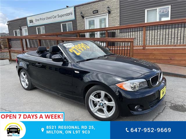 2013 BMW 128i  (Stk: 11012) in Milton - Image 1 of 24