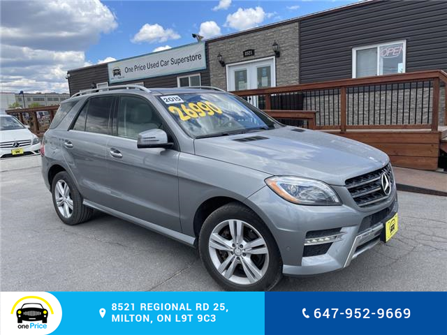 2015 Mercedes-Benz M-Class Base (Stk: 10887) in Milton - Image 1 of 24