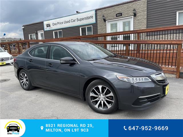 2015 Acura TLX Tech (Stk: 11049) in Milton - Image 1 of 28