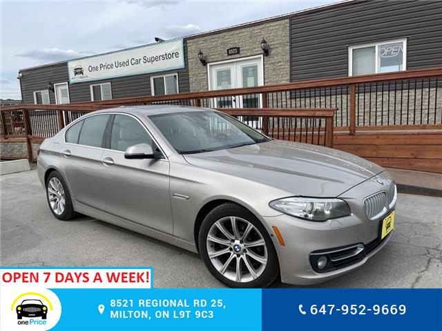 2014 BMW 528i xDrive (Stk: 11051) in Milton - Image 1 of 26