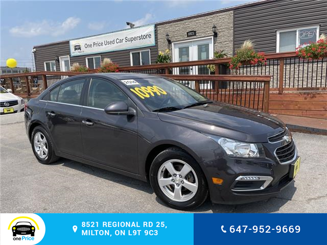 2016 Chevrolet Cruze Limited 2LT (Stk: 189344) in Milton - Image 1 of 26