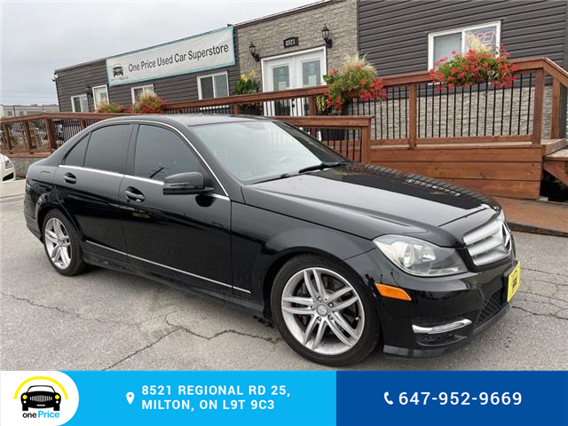 2013 Mercedes-Benz C-Class Base (Stk: 11112) in Milton - Image 1 of 27
