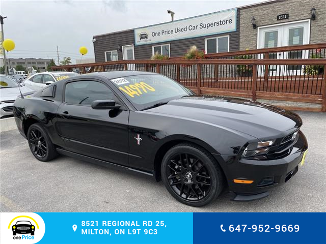 2012 Ford Mustang V6 (Stk: 11118) in Milton - Image 1 of 24