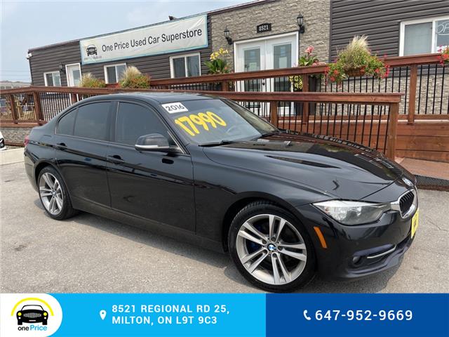 2016 BMW 320i xDrive (Stk: 11108) in Milton - Image 1 of 27