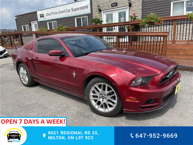2014 Ford Mustang V6 (Stk: 11155) in Milton - Image 1 of 15
