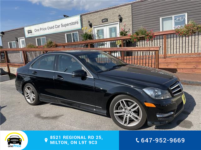 2014 Mercedes-Benz C-Class Base (Stk: 11191) in Milton - Image 1 of 25