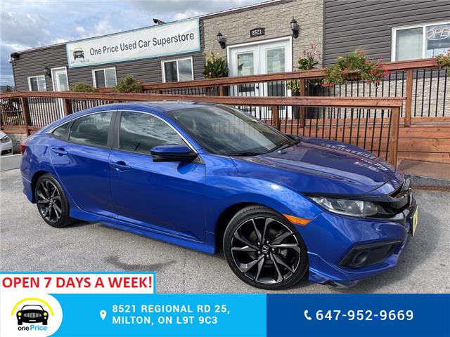 2019 Honda Civic Sport (Stk: 11192A) in Milton - Image 1 of 23