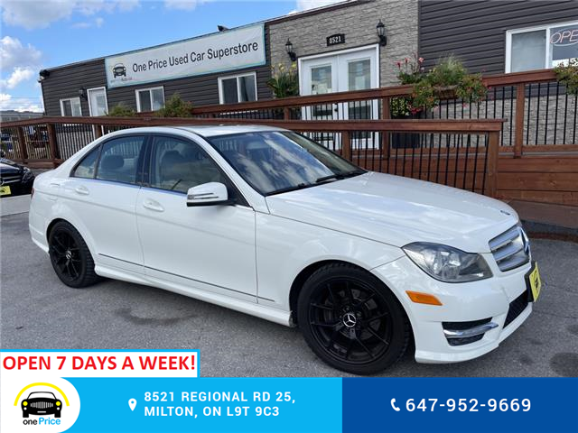 2012 Mercedes-Benz C-Class Base (Stk: 11208) in Milton - Image 1 of 25