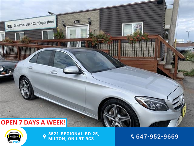 2015 Mercedes-Benz C-Class Base (Stk: 11235A) in Milton - Image 1 of 23