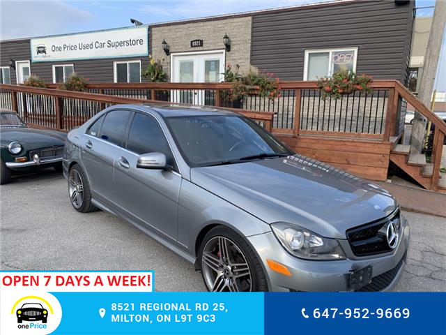 2014 Mercedes-Benz C-Class Base (Stk: 11276) in Milton - Image 1 of 15