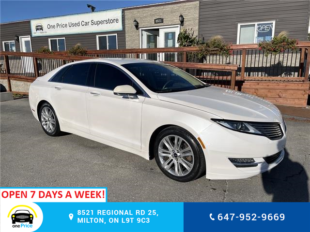 2014 Lincoln MKZ Base (Stk: 11250) in Milton - Image 1 of 16