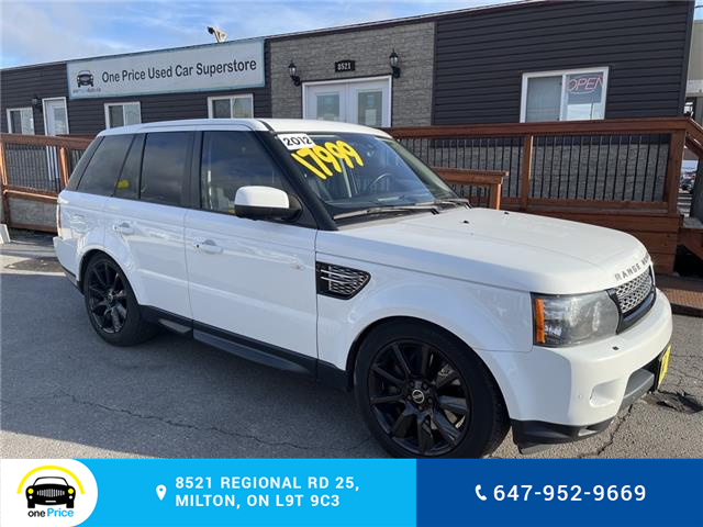 2012 Land Rover Range Rover Sport Supercharged (Stk: 11282) in Milton - Image 1 of 28