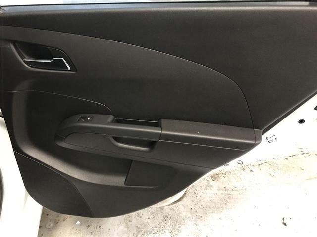 2017 Chevrolet Sonic LT Auto (Stk: 167780) in Milton - Image 11 of 27