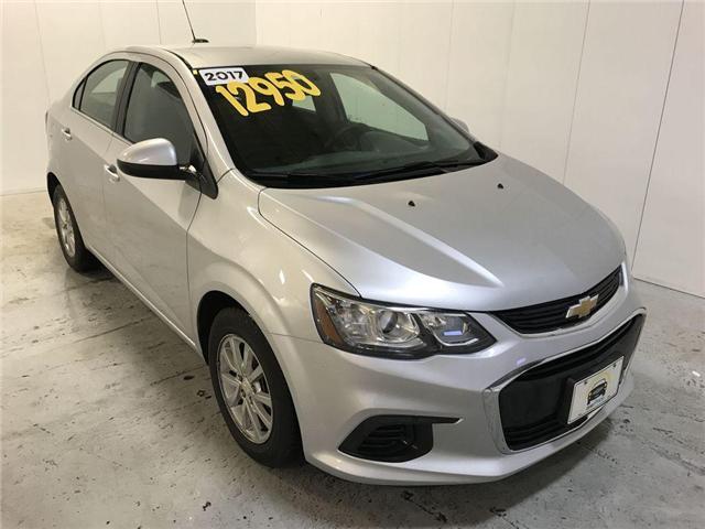 2017 Chevrolet Sonic LT Auto (Stk: 144182) in Milton - Image 1 of 30
