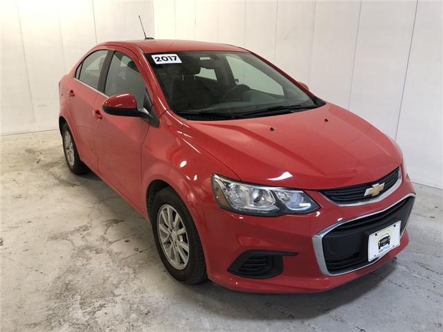 2017 Chevrolet Sonic LT Auto (Stk: 170165) in Milton - Image 1 of 26
