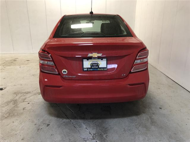 2017 Chevrolet Sonic LT Auto (Stk: 170165) in Milton - Image 25 of 26