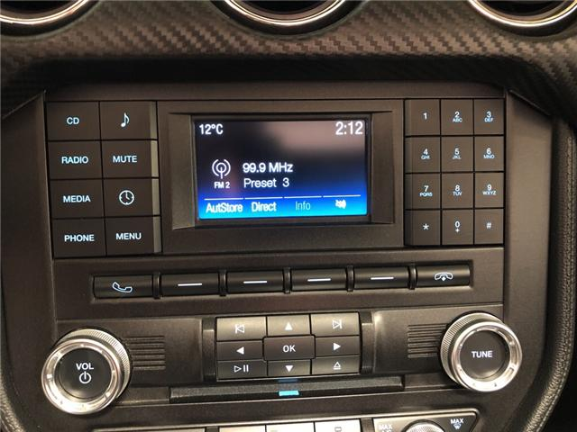 2017 Ford Mustang V6 (Stk: 325874) in Milton - Image 17 of 27