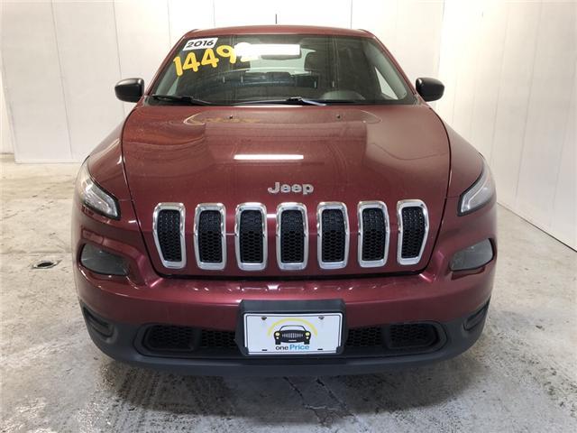 2016 Jeep Cherokee Sport (Stk: 332198) in Milton - Image 6 of 28