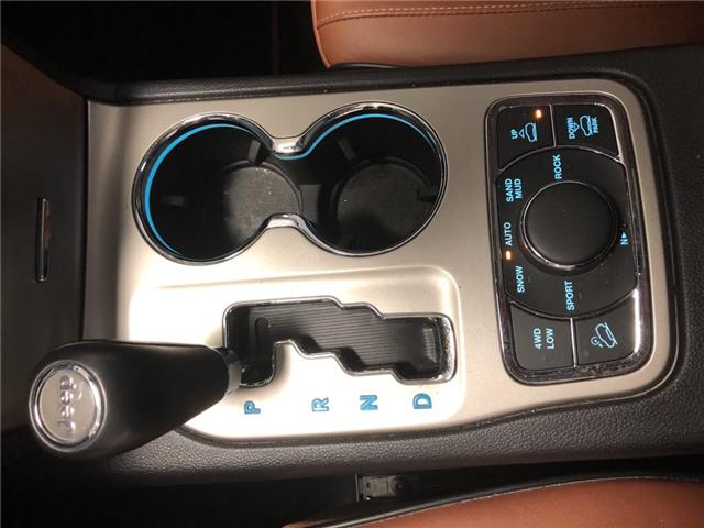 2012 Jeep Grand Cherokee Overland (Stk: 287334) in Milton - Image 22 of 29