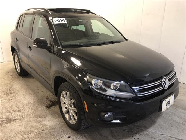2014 Volkswagen Tiguan Highline (Stk: 578204) in Milton - Image 1 of 26