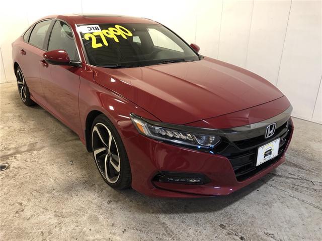 2018 Honda Accord Sport (Stk: 801423) in Milton - Image 1 of 30
