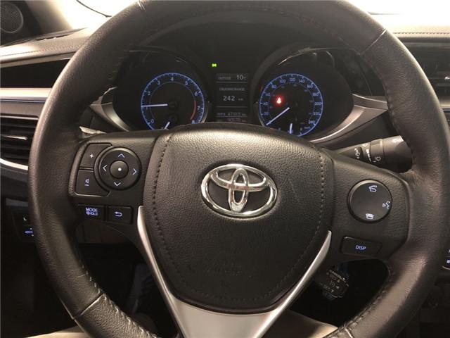 2015 Toyota Corolla S (Stk: 282544) in Milton - Image 19 of 29
