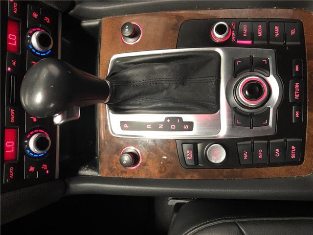 2011 Audi Q7 3.0 TDI Premium (Stk: 010602) in Milton - Image 27 of 30