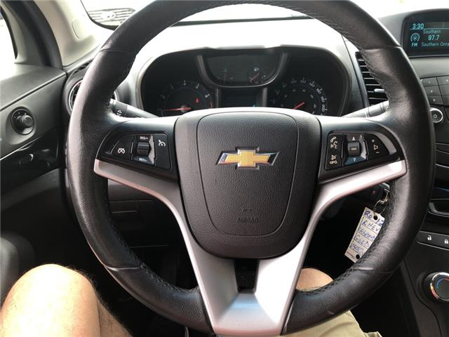 2012 Chevrolet Orlando 1LT (Stk: 562638) in Milton - Image 17 of 23