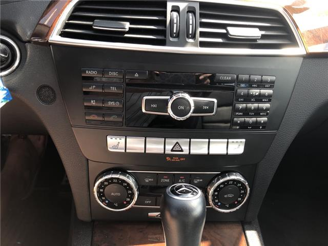 2012 Mercedes-Benz C-Class Base (Stk: 689387) in Milton - Image 18 of 22