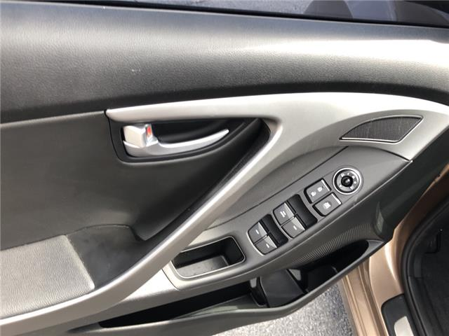 2015 Hyundai Elantra Limited (Stk: 413384) in Milton - Image 11 of 24
