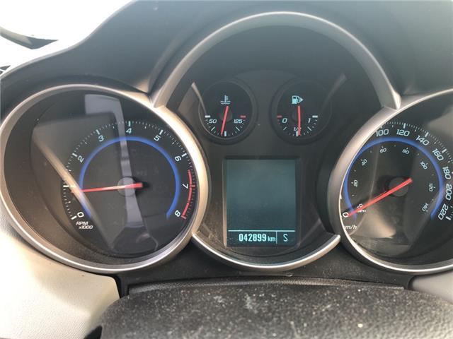 2015 Chevrolet Cruze 2LS (Stk: 240538) in Milton - Image 11 of 20