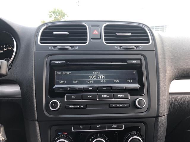 2013 Volkswagen Golf 2.0 TDI Comfortline (Stk: 120603) in Milton - Image 14 of 20