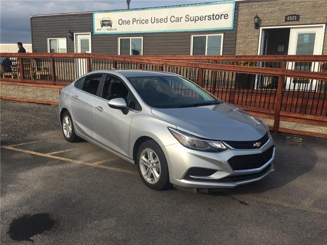 2018 Chevrolet Cruze LT Auto (Stk: ) in Milton - Image 1 of 10