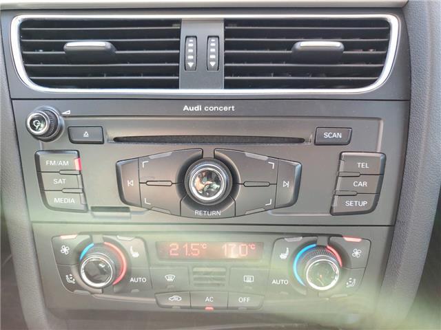2011 Audi A4 2.0T Premium (Stk: 024527) in Milton - Image 13 of 21
