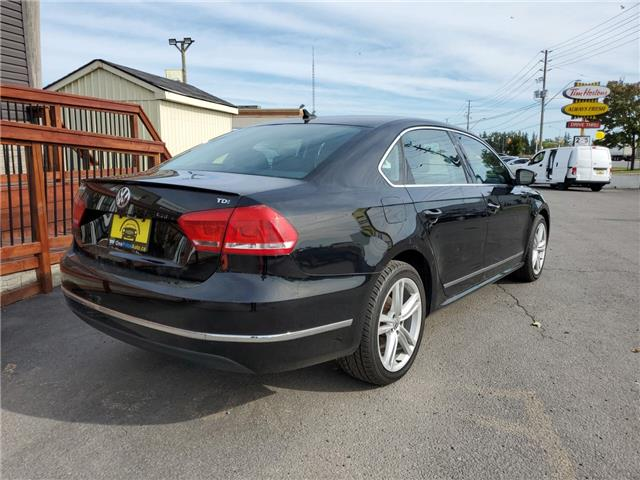 2013 Volkswagen Passat 2.0 TDI Highline (Stk: 128941) in Milton - Image 7 of 26