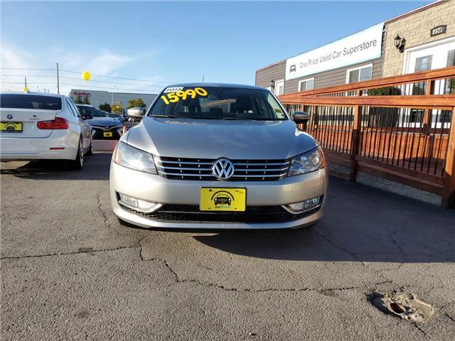 2013 Volkswagen Passat 2.0 TDI Comfortline (Stk: 10193) in Milton - Image 2 of 18