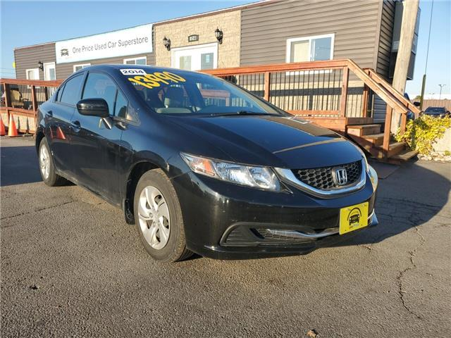 2014 Honda Civic LX (Stk: 10302) in Milton - Image 1 of 22
