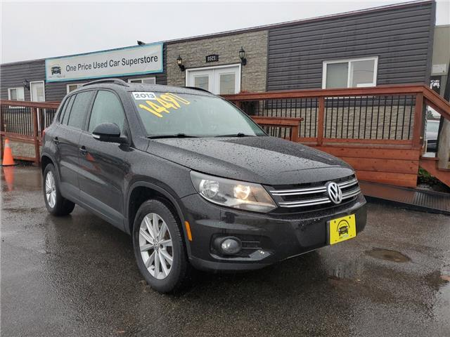 2013 Volkswagen Tiguan 2.0 TSI Highline (Stk: 10338) in Milton - Image 1 of 28