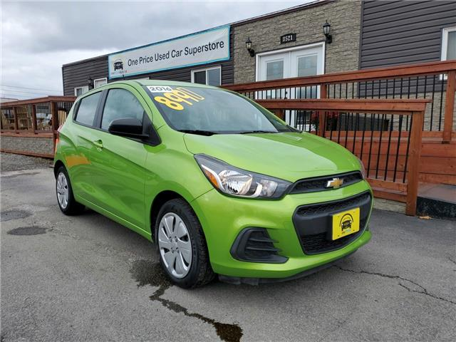 2016 Chevrolet Spark LS Manual (Stk: 565504) in Milton - Image 1 of 25